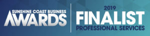 Sunshine Coast Business Awards Finalist 2019